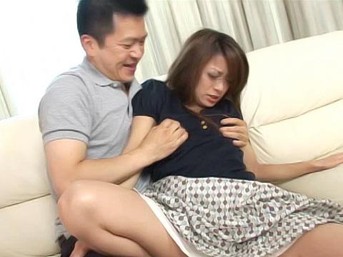 パイパン三十路妻 陵辱中出し姦!上村優子 無修正画像12