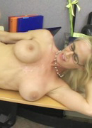 Tabitha fucks a co-worker