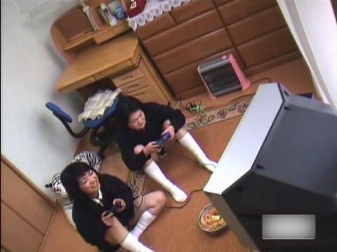 JC妹の私生活を兄が盗撮 前半 無修正画像05